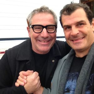 Mat Hoffman and Paul DiMeo.  Extreme MAKEOVER - Home Edition