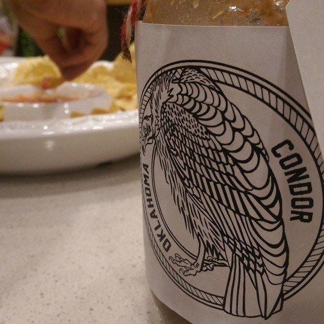 It just got real! Condor HOT sauce.
