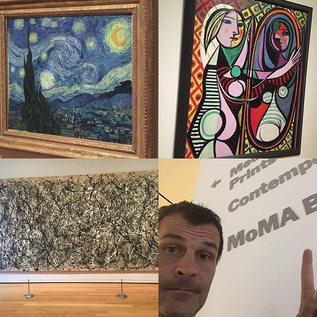 Sightseeing goodness #NYC_mh #museumofmodernart