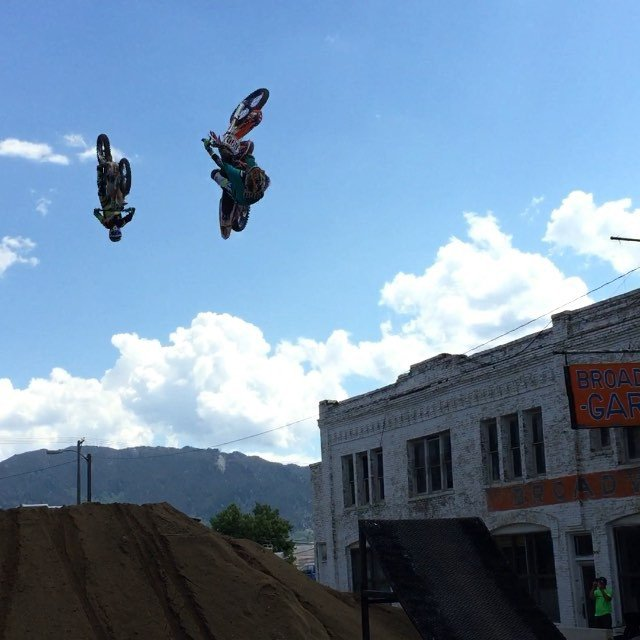 @official_evel_knievel @evelknieveldays FMX show!