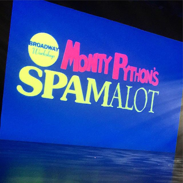 Bravo @giannahoffman for your first NYC show! your awesome xo #spamalot