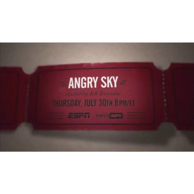 #AngrySky Airs tomorrow! - it will be having its TV broadcast premiere this Thursday, July 30 at 8 PM EST / 5 PM PST, with an encore directly after at 7:30 PM PST for the West Coast on ESPN's main network as part of it's 30 for 30 Series.  A Tremaine directed documentary on the life of Nick Paintanida a truck driver and amateur skydiver who launched his own civilian space program in 1965 with the dream to jump from the edge of space. @gorillaflicks