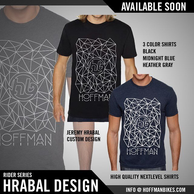 Get you're new @hoffmanbikes shirt by @jhrab! #BlatantPlug