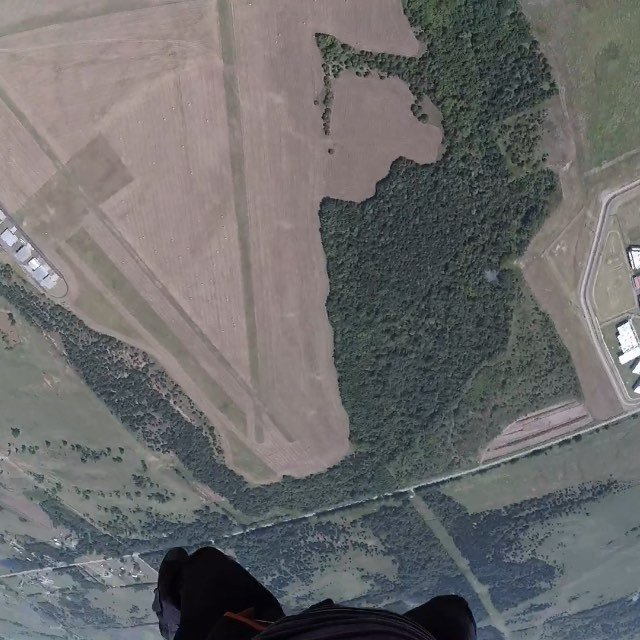 Dizzy views in the sky - thanks @okskydiving_center