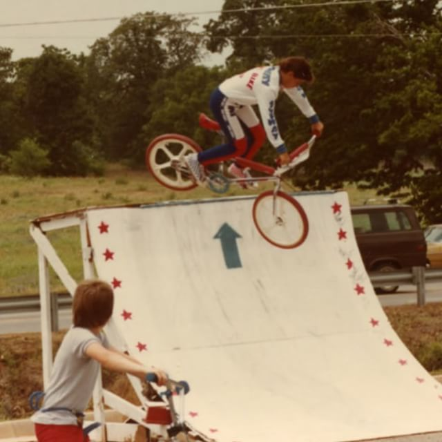 My fist shows.  #1983 @EdmondBikeShopReunion