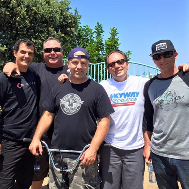 @peteaugustin repost of 43 years of inspiration. Ride on friends. Ron Haro, Drob, Pete and Eddie Ro!