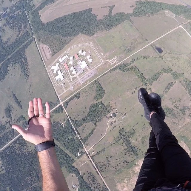 Fun views in the sky 2 - thanks @okskydiving_center