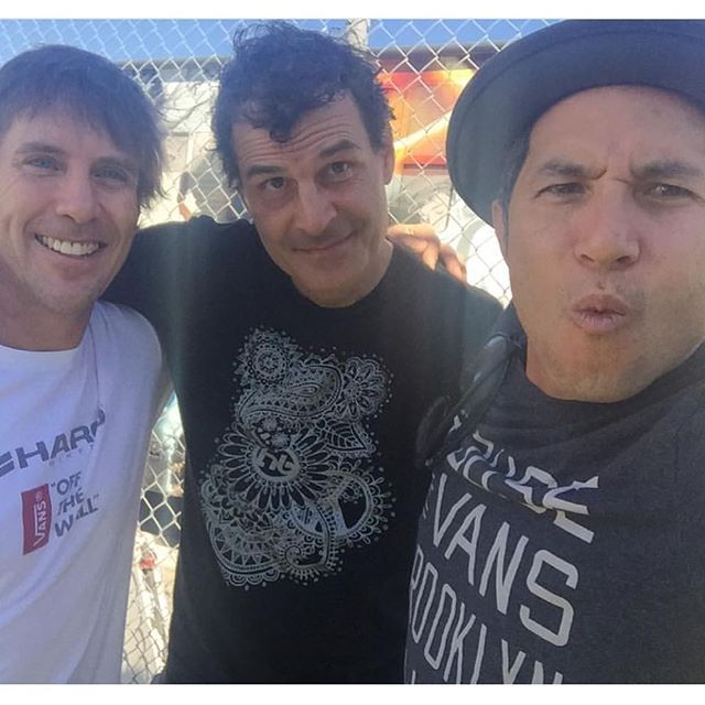 @christianhosoi repost been doing shows with these legends since the 80's! Stoked! @bmxdmc