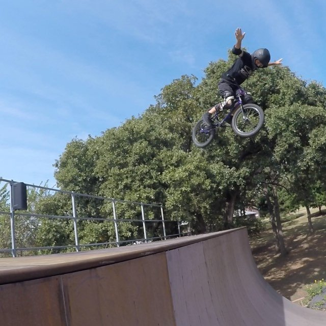 """A bit sketchy but today was the day to get back in the rider seat of """"yeah"""" by @dbcbr9"""
