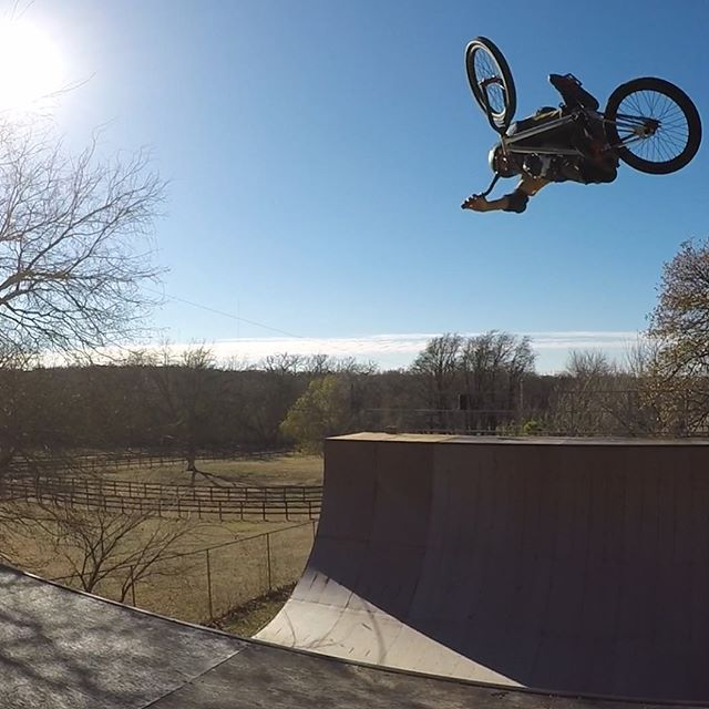 A beautiful December day to ride.