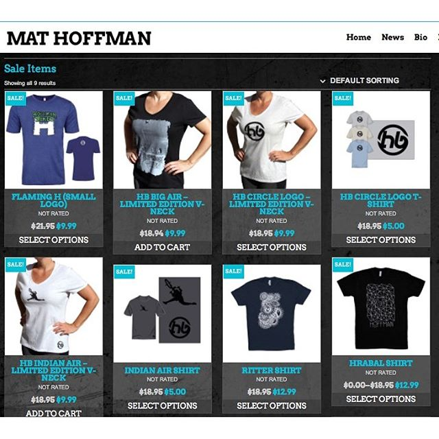 Looking for a great deal. I have some Hoffman Shirts on sale at my online store ranging from $5 to $12.99. Also if size doesn't matter, there are some Flaming H shirts that where printed with the wrong logo size that are being closed out. Link in my profile http://mathoffman.com/product-category/sale-items/