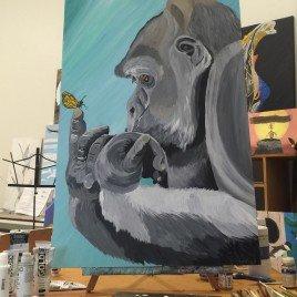 Gorilla Butt — erfly – PRINT