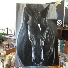 Black Horse – PRINT