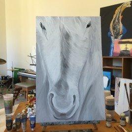 White Horse – PRINT