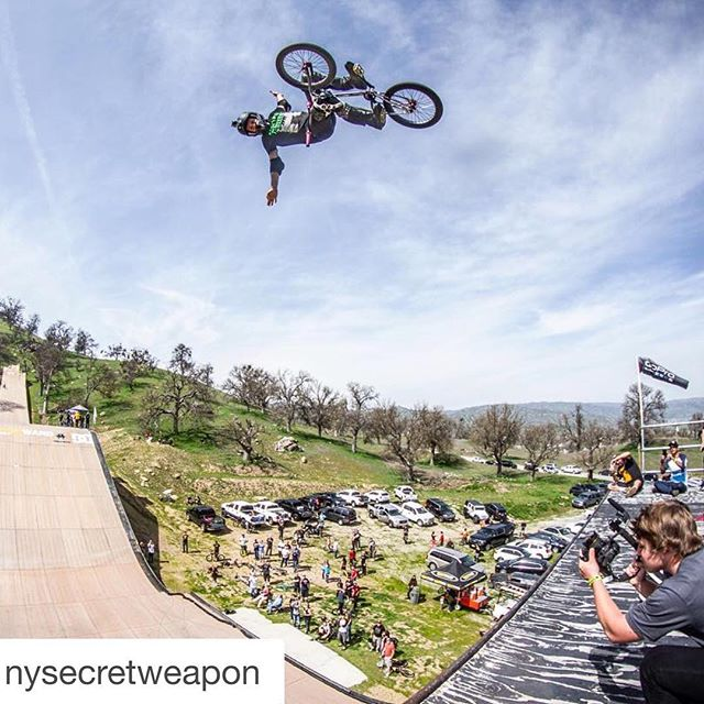 Repost from today's mega ramp session.