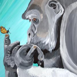 Gorilla Butt — erfly