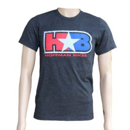 H star B Logo – Charcoal Black