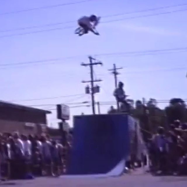 #tbtbmx @bob_haro bike shop show 31 yrs ago.  I was 15.
