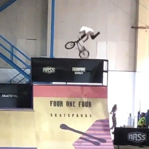 A must repost: 900 WHIP!️ • @jackbmxmaguire ️WORLD FIRST TO A QUATER PIPE️Had an amazing weekend @nassfestival me and @kieranbmxreilly and @delsheps won best trick I am so stoked right now you have no idea how much hard work I have put in to get this done will do it clean soon but please everybody share this. See you next year thanks to @nassfestival for bringing me out here #skatepark #lovebmx #lovelofe #livelife #worldfirst @coreuk @emtrex_garms