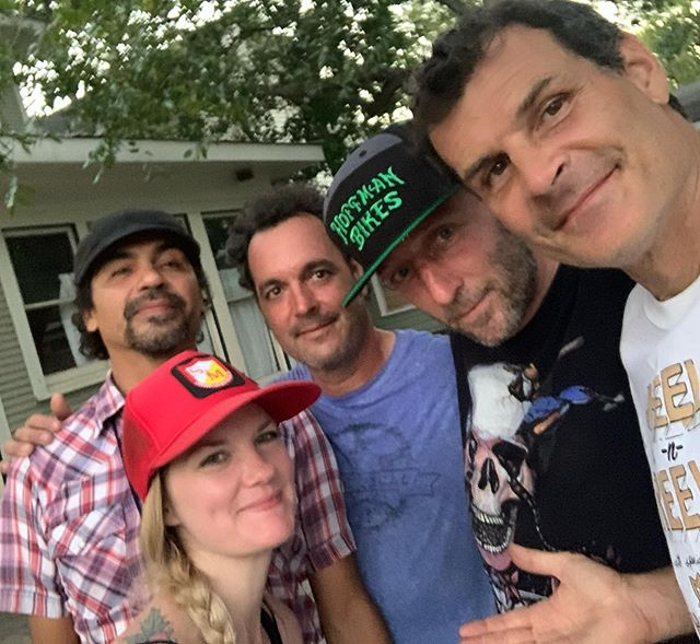 I had an incredible experience at the Wheelz & Reelz,  Lost River Film Festival.  Hanging with Texas legends Tim Kerr, Chase Hawk, Tony Cardona, EZ, R Dog, Sam Bethke, Sheps. The Gute, and TX SteveO.  Thanks for showing #BirthofBigAir.  I was very honored with awesome people and timeless friends. Thanks for hosting it @steveornelas38 And thank you for the amazing art gift from the great @reneperezart and insane Big Air cake from @atomicsweetsbakery