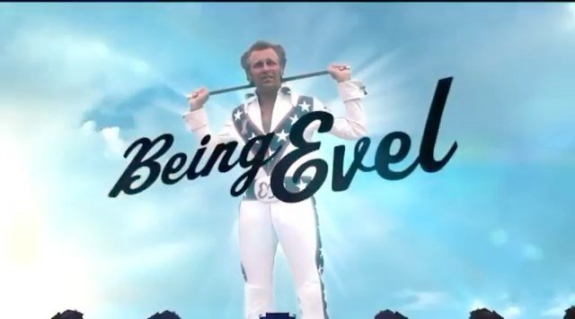 "I had the pleasure of producing this film of the great Evel Knievel with my friends @gorillaflicks and @johnnyknoxville It's  the whole story of a life that inspired the world to go big, crash hard, get back up and never give up. Now streaming • @officialevelknievel Color me lucky-Check out the documentary ""Being Evel""-available on I-tunes, Amazon and other streaming services- #tonyhawk #mathoffman #travispastrana #johnnyknoxville #robbiemaddison"